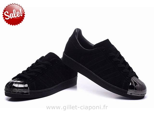 Adidas Superstar 80 metal toe Noirbronze S76712